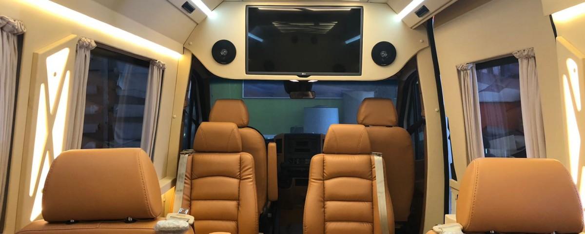 Mercedes Spinter Turizm Vip Dizayn